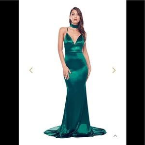 Alamour the Label Emerald Gown